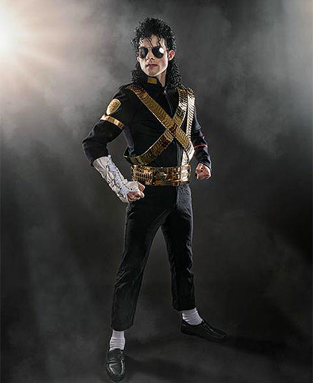 Rory Jackson as Michael Jackson Tribute