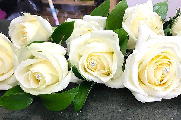 Boutique florist Harlow wedding flowers