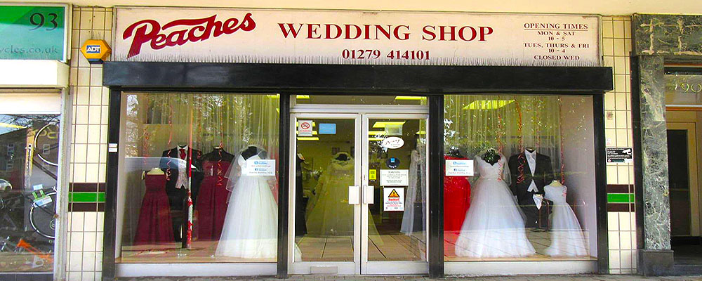 Peaches Wedding Shop Ltd