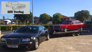 Hill Towing Vehicle Transportation Classic Car Vehicle Recovery