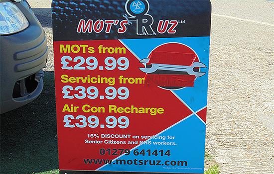 MOT's R UZ
