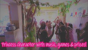 Pristine Princess Parties Disney Princess Parties Harlow Character Party
