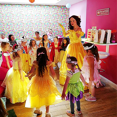Pristine Princess Parties