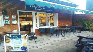 Cafe In Harlow Afternoon Tea Outdoor Seating