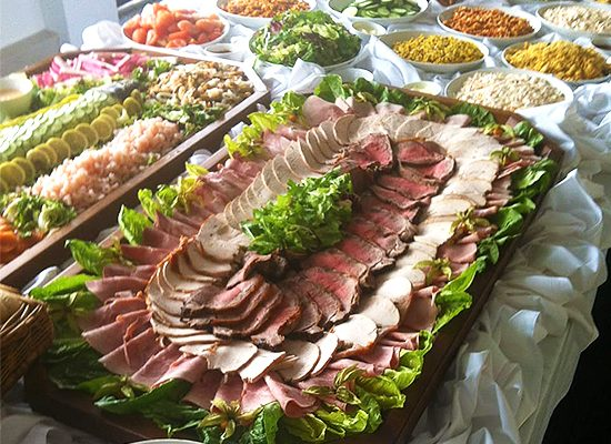 L&A Catering Company Outside Catering Catering Hire Catering Services Harlow Essex Buffets Formal Dinners Informal Meals
